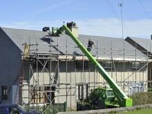 construction-maison-pavillon-echafaudage
